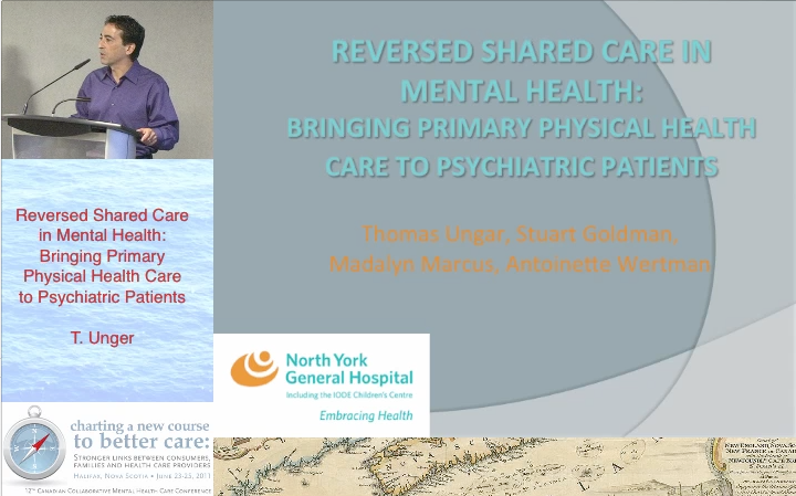 Welcome To The Halifax 2011 Collaborative Mental Health Care Conference Online